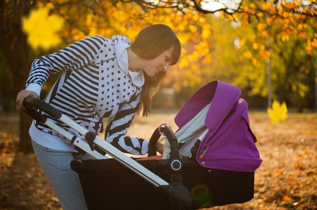 Gå en tur med baby – få masser af frisk luft